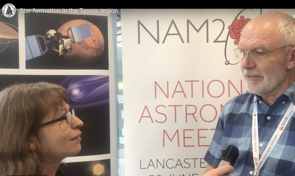 JHI MSc student makes impact at the National Astronomy